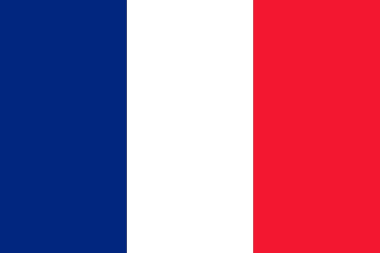france, flag, national